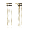 Black Diamonds Earrings
